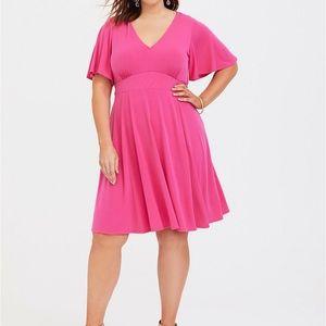 Torrid pink dress size 2X